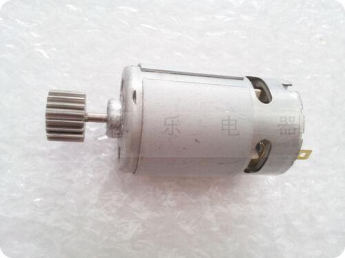 R-550 DC 6-12V 8000-13000RPM 3mm Shaft Dia Magnetic Big gear Motor Massager