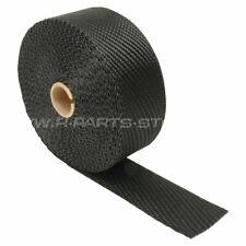 "1/"" x 25ft Hitzeschutzband Keramik 2,5cm x 7,6m 1200° Thermoband Auspuff"