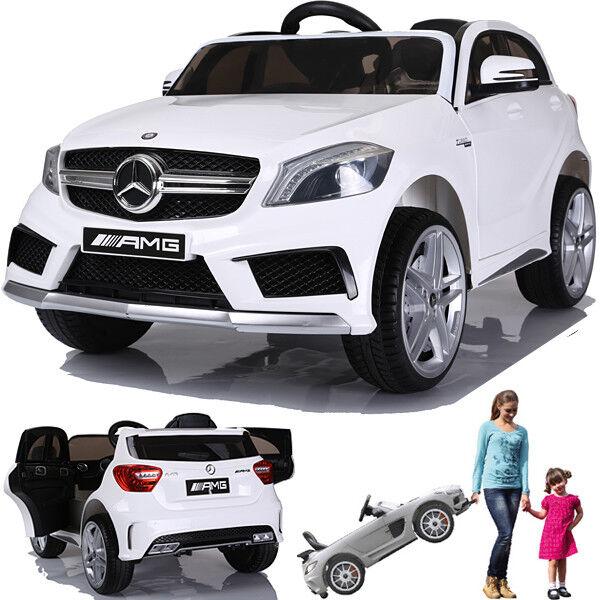 Mercedes A45 AMG Auto Bambino Vettura Elettrica per Molleggio Molleggio Molleggio 2xMT Bianco  barato