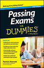 Passing Exams For Dummies by Patrick Sherratt (Paperback, 2013)