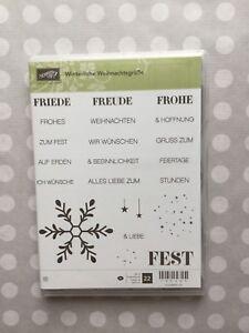 Winterliche Weihnachtsgrüße.Details Zu Stampin Up Stempelset Winterliche Weihnachtsgrüße Neu