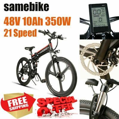 Bici Bicicleta Eléctrica Samebike 350W 48V 10AH 26/'/' 26inch Electric Bike 25km//h