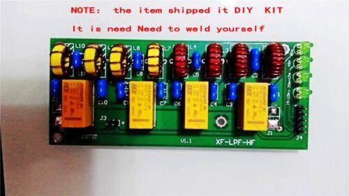 New Diy kit 12v 100W 3.5Mhz-30Mhz HF power amplifier low pass filter
