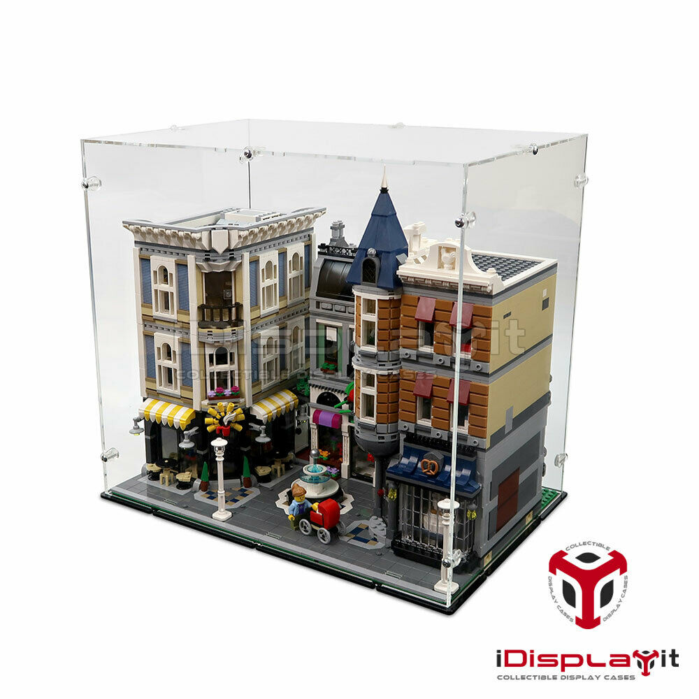 Acryl Vitrine für Lego 10255 Stadtleben - NEU
