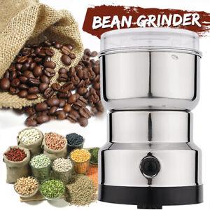 Elektrische Kaffeemühle Nuts Bohnen Kaffeebohnen Mahlmaschine Zuhause Grinder