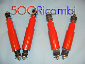 FIAT-500-F-L-R-KIT-4-AMMORTIZZATORI-X-ASSETTO-RIBASSATO-CORTI-A-DOPPIO-EFFETTO