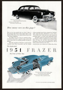 1951 Frazer Vagabond Vintage Look Reproduction Metal Sign