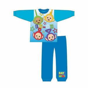 Boys Teletubbies Pyjamas. Ages 12-18,18-24 Months, 2-3,3-4 Years