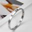 Rose-Gold-Silver-Plated-Stainless-Steel-Metal-Rivet-CZ-Crystal-Bangle-Bracelet thumbnail 14