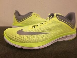best authentic a5fb1 cd779 france nike fs lite run mens grey yellow c7354 ff141