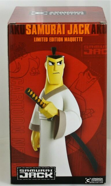 Cartoon Network Samurai Jack Animation Maquettes Ebay