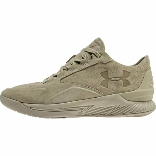 Under Armour Curry 1 Low Alpha Suede Desert Sand 1298702-290