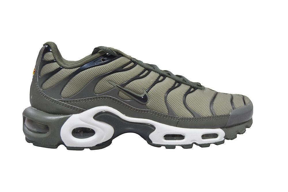 Da Uomo Max Nike Tuned 1 Air Max Uomo Plus - 852630-013 - TN Nero Grigio Scarpe Da Ginnastica a45aa6