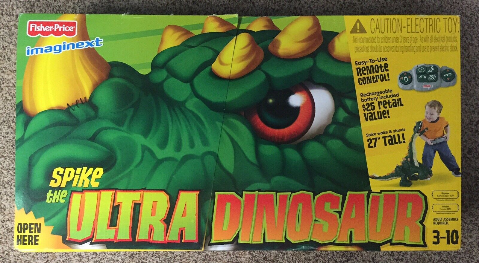 Fisher Price Spike Dinosaur