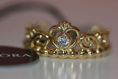 AUTHENTIC NEW PANDORA SHINE™ MY PRINCESS TIARA RING 167158CZ CHOOSE SZ* BOX  TAG   eBay