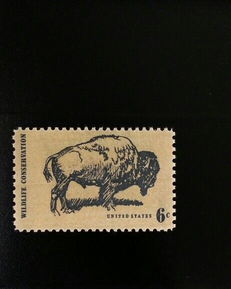 1970 6c Wildlife Conservation - Buffalo Scott 1392 Mint
