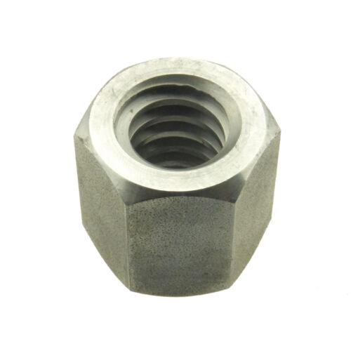 Sechskantmuttern mit Trapezgewinde Stahl blank Höhe = 1,5 d