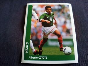 Figurina-Ds-Sticker-France-98-n-231-ALBERTO-COYOTE-MEXICO-World-Cup
