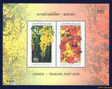 2003 THAILAND STAMP THAI CANADA JOINT ISSUE SOUVENIR SHEET S#2090C MNH SS