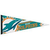 Miami Dolphins Roll Up Premium Felt Pennant 12x30 Brand Wincraft