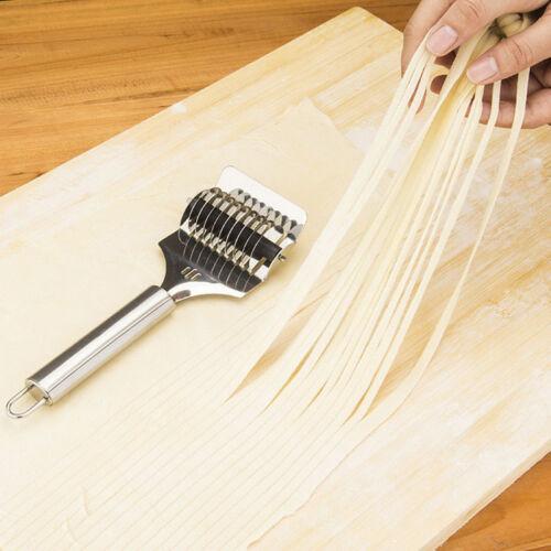 Nudeln Spaghetti Maker Gitter Roller Docker Teig Edelstahl Stee