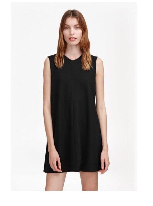 New French Connection Northern Fold Back Shift Dress Sz 6 Retail +