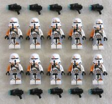 10 NEW LEGO STAR WARS AIRBORNE CLONE TROOPER MINIFIG LOT 212th Utapau 75036