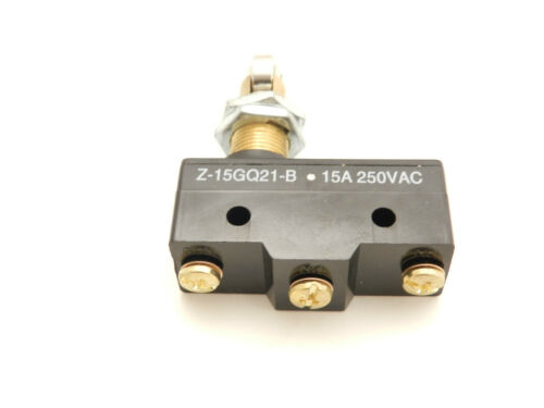 Details about  /FITS Micro Switch Panel Mount Roller Plunger Omron Z-15GQ21-B LS-Z15GQ21-B