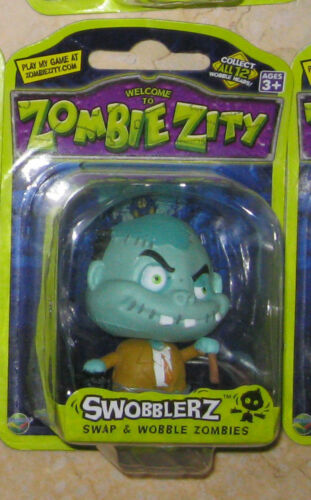 SINGLE ACTION FIGURE ZOMBIE ZITY SWOBBLERZ 12 TO CHOOSE FROM NEW