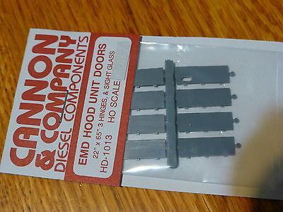 "Cannon & Company HO #1013 EMD HOOD UNIT DOORS FOR: 22"" x 65"" 3 Hinges, & Sight G"