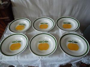 6 assiettes creuses orchies moulin des loups décor golden 6 soup plates 576e0be4-08070129-885296993