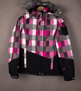 ICEPEAK-Women-IceTech-Waterproof-Skiing-Jacket-Size-XS-UK-8-US-6-FI-34-ATZ1078