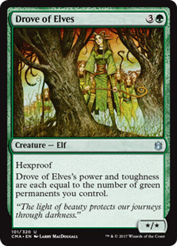 Commander Anthology Magic Drove of Elves Elfenschar