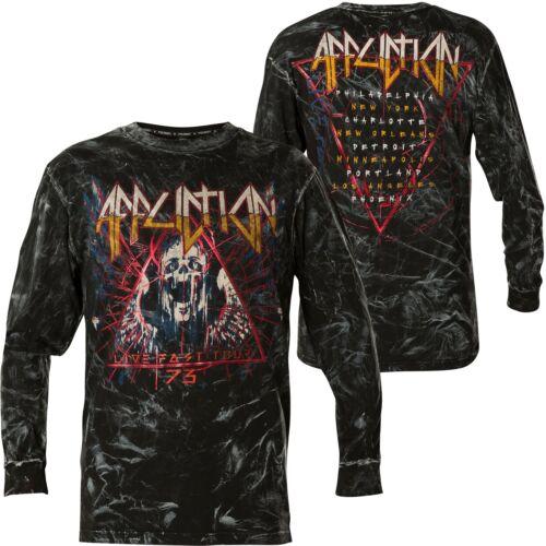 AFFLICTION Pullover Dysmorphia Schwarz Sweatshirts
