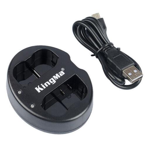 EN-EL15 Cargador de batería doble USB para NIKON D750 D7100 D7000 D610 D600 D800E