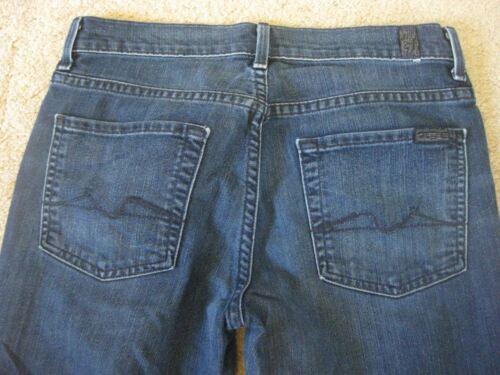 jeans Boot taljenstøvsknip 5 sz All 5 Hej 7 32 32 For Seven 7 27 Jeans Syv 27 hele Mankind For Waist sz Hi Cut menneskeheden XSY60Ux