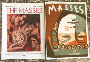 The Masses ~Radical Magazine, Facsimiles of 1912,1917~ John Reed,Max Eastman IWW
