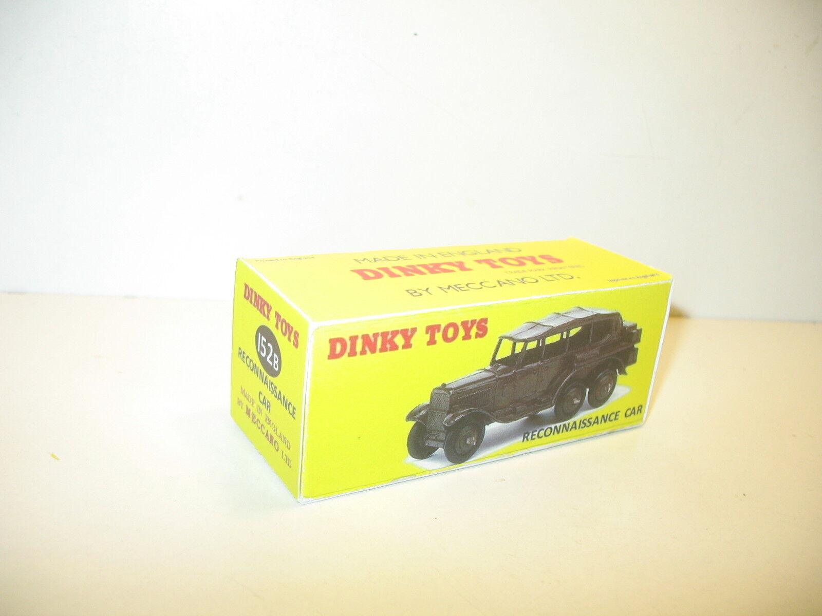 N94, Schachtel repro Anerkennung CAR 152 B dinky toys Militär