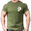 Lion Head Gym T-Shirt Mens Gym ClothingWorkout Training Vest Bodybuilding Top