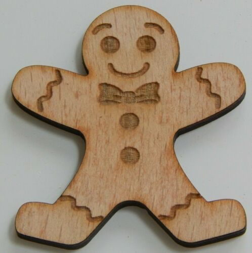 Laser cut from 4mm Birch plywood Ginger bread Man