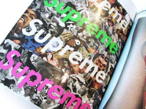 Supreme Book Vol 2 Fleece Scarf /& Box Logo Stickers magazine catalog lookbook