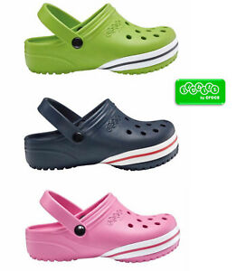 Crocs-Jibbitz-Relaxed-Fit-Kids-Mule-Sandals-Variety-Colours-amp-UK-Sizes-Bargain