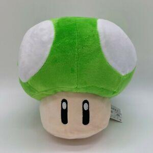 New Super Mario Bros Green Mushroom Plush Doll Soft Toy Teddy 8