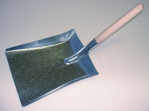 SORBY Hutton Galvanisé Pelle à charbon cheminée Poussière Pelle Heavy Duty Pelle