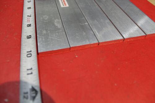 "5 Pieces 3//16/"" X 1-1//2/"" ALUMINUM 6061 FLAT BAR 10/"" long T6511 .187/"" Mill Stock"