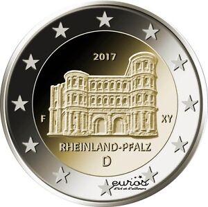 Pièce 2 euros commémorative Allemagne 2017 - Rhénanie-Palatinat - UNC