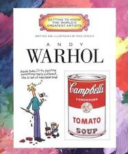 Getting to Know the World's Greatest Artists: Andy Warhol by Mike Venezia (1997, Paperback)