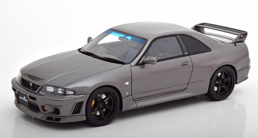 venta mundialmente famosa en línea 1 18 Otto Nissan Skyline GT-R bcnr bcnr bcnr 33 Grand Touring Coche grismetallic  cómodamente
