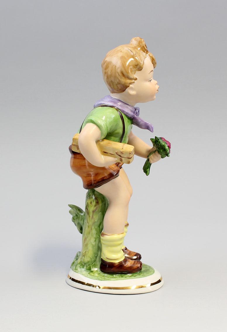Porzellan Figur Junge Hilla Peyk Wagner & Apel 10x9x21cm 9942330 9942330 9942330 784449