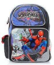 """Spider Man 16"""" Large Boys Backpack, School Book Bag, Backpack"""